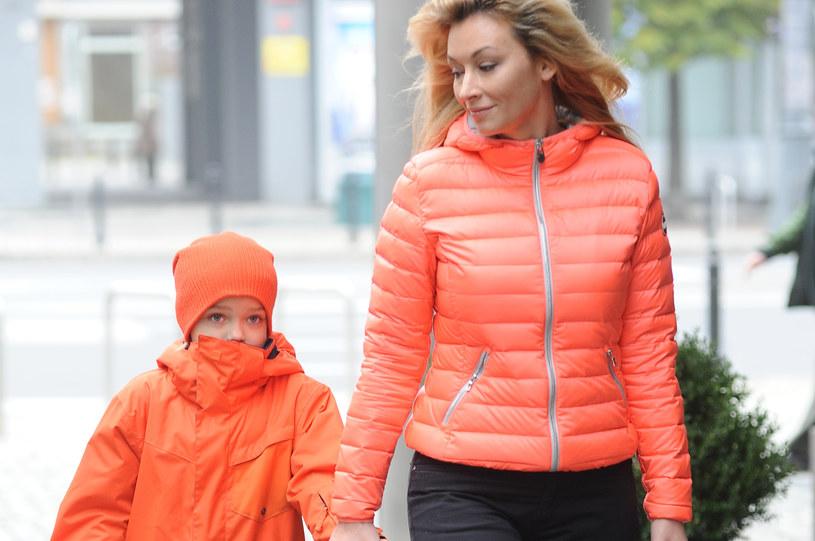 Martyna Wojciechowska z córką Marysią /Piotr Andrzejczak /MWMedia