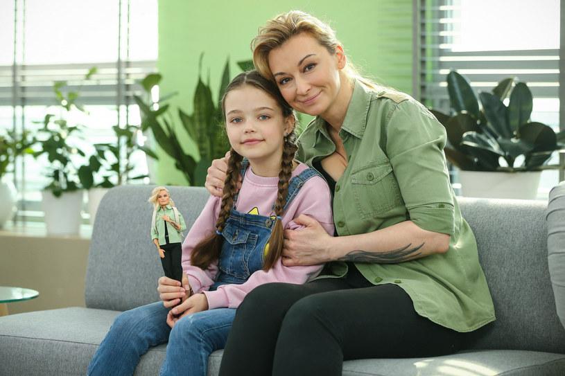 Martyna Wojciechowska z córką Marysią /Kamil Piklikieiwcz /East News