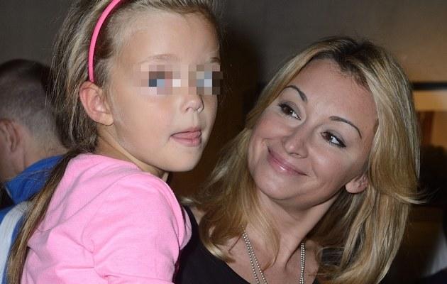 Martyna z córką /- /MWMedia