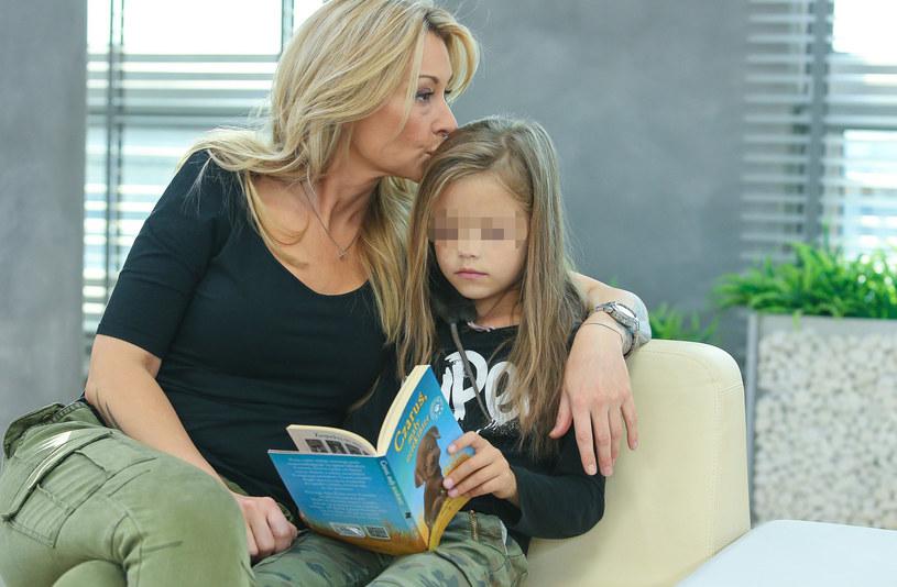 Martyna z córką /Kamil Piklikiewicz /East News