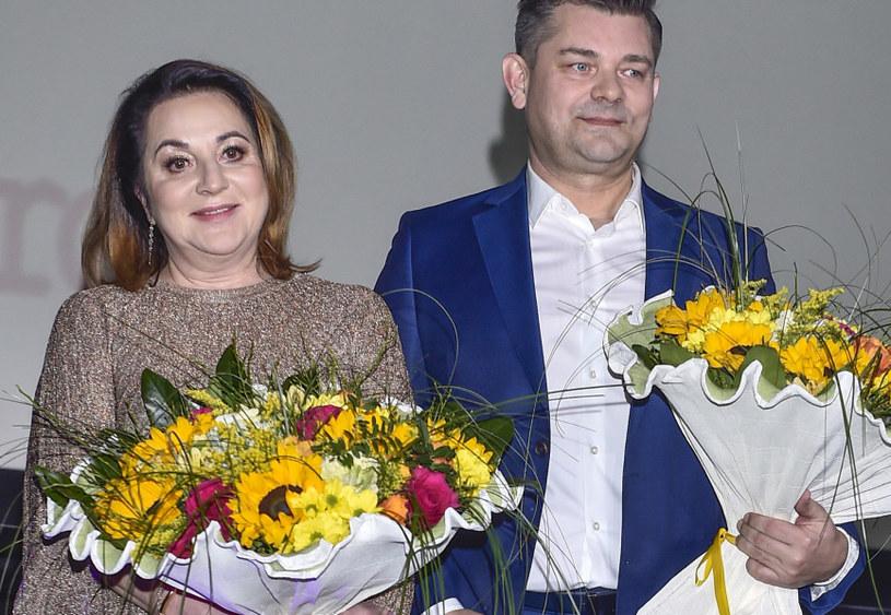 """Martyniukowie na premierze filmu """"Zenek"""" / Jacek Kurnikowski /AKPA"""