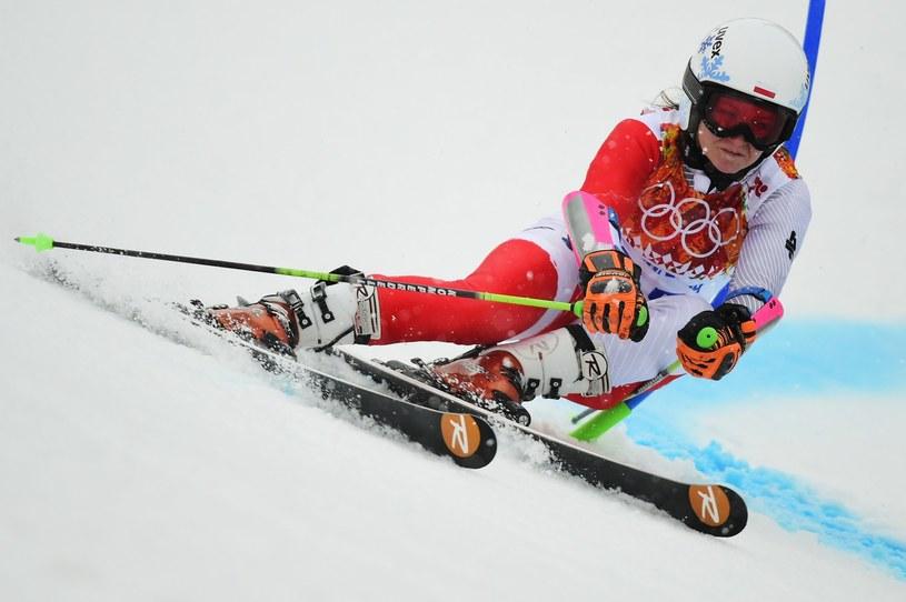 Maruna Gąsienica-Daniel na igrzyskach olimpijskich w Soczi /AFP