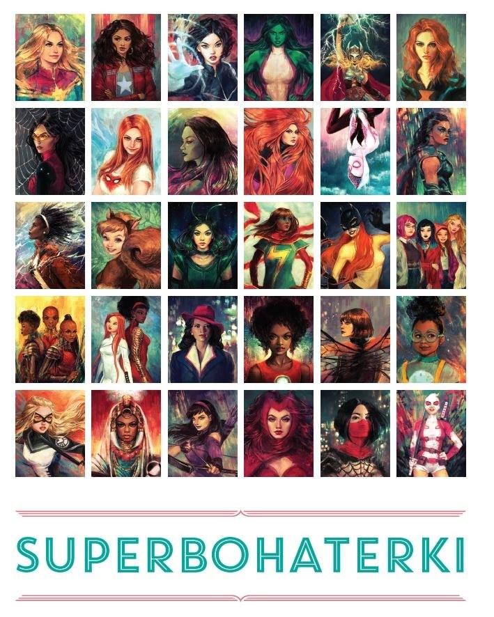 Marvel. Superbohaterki /materiały prasowe