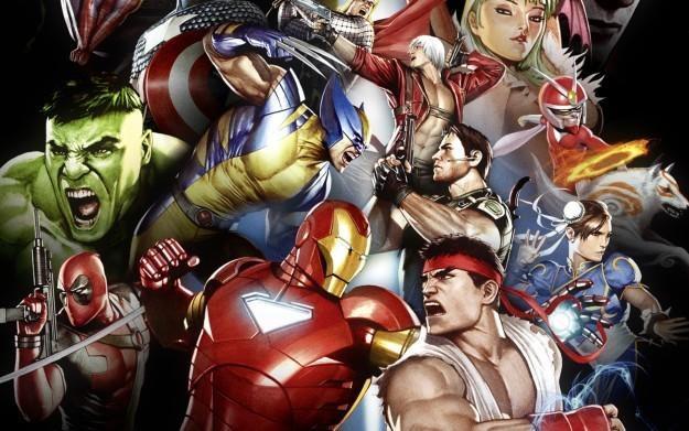 Marvel vs. Capcom 3: Fate of Two Worlds - motyw graficzny /Informacja prasowa