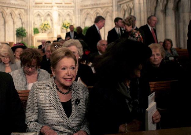 Mary Higgins Clark zmarła w wieku 92 lat /AP Photo/Bebeto Matthews) /PAP/EPA