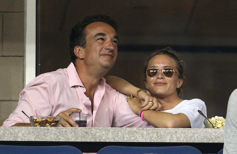 Mary-Kate Olsen i Olivier Sarkozy - ich małżeństwo trwało 5 lat /Getty Images