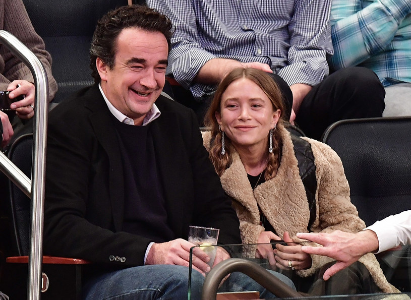 Mary Kate Olsen i Olivier Sarkozy /James Devaney /Getty Images