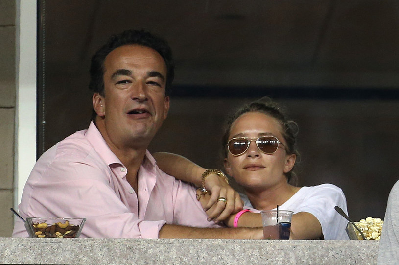 Mary-Kate Olsen i Olivier Sarkozy /Jean Catuffe/GC Images /Getty Images