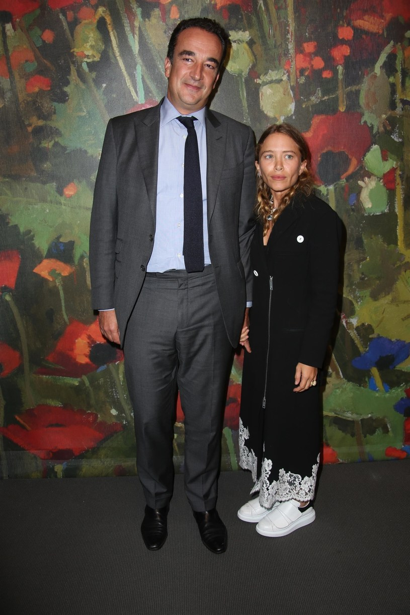 Mary-Kate Olsen i Olivier Sarkozy /MediaPunch / BACKGRID /Agencja FORUM