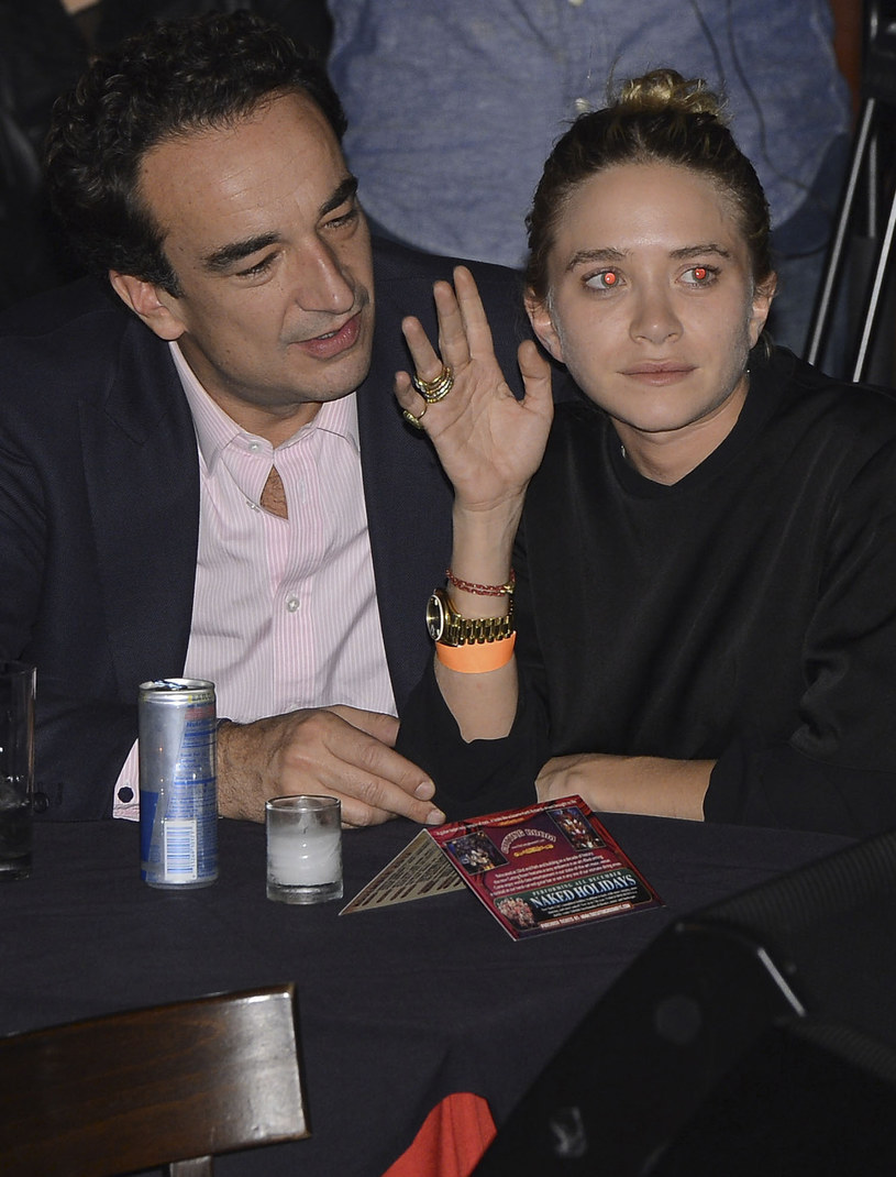 Mary-Kate Olsen ponoć jest w ciąży! /Larry Busacca /Getty Images