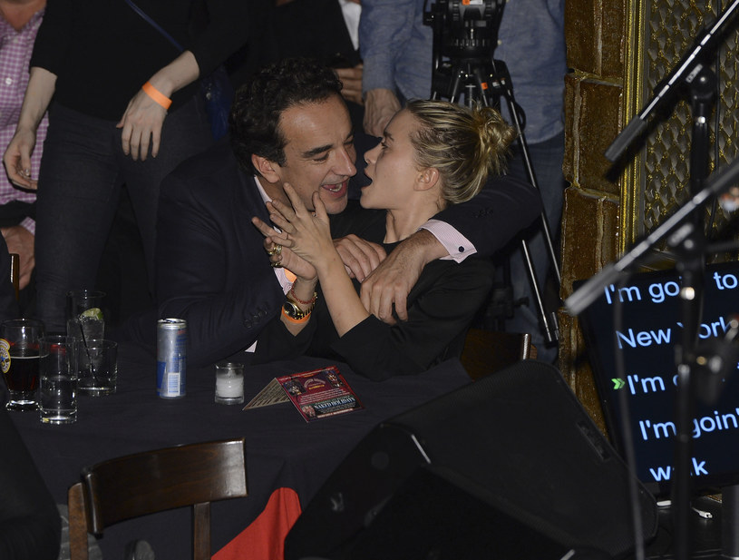 Mary-Kate Olsen z mężem /Larry Busacca /Getty Images