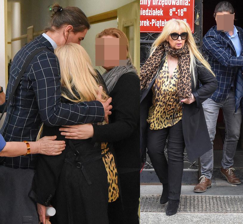 Maryla płakała po wyjściu z sali sądowej /brak /pomponik exclusive