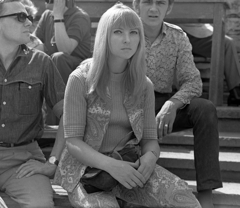 Maryla Rodowicz, 1968 r. /Jerzy Michalski /Agencja FORUM