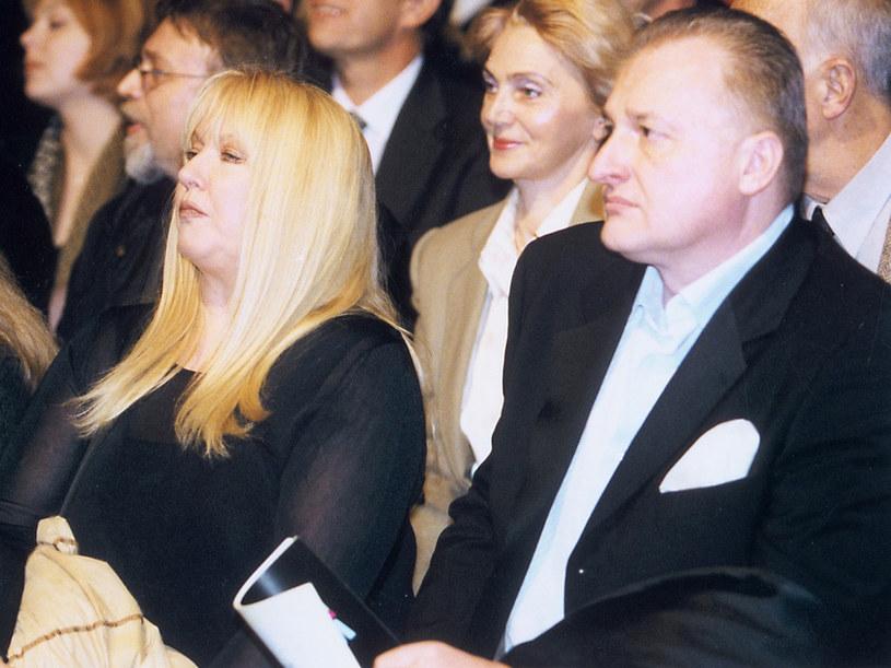 Maryla Rodowicz i Andrzej Dużyński /AKPA