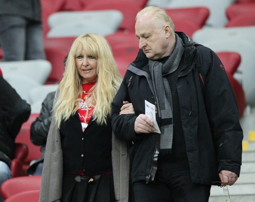 Maryla Rodowicz i Andrzej Dużyński /Michał Dyjuk /Reporter