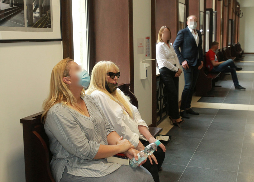 Maryla Rodowicz w sądzie podczas rozprawy rozwodowej /Agencja SE /East News