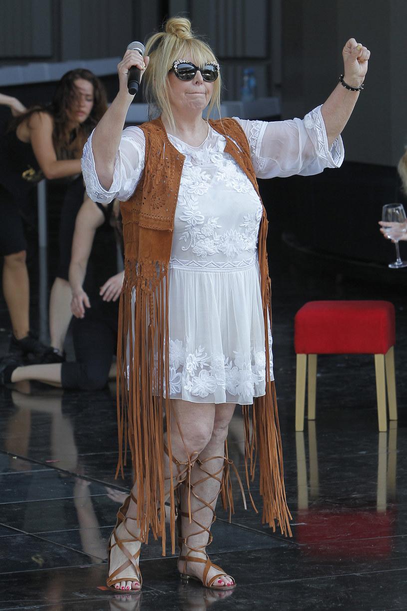 Maryla Rodowicz wciąż jest w świetnej formie! /Mieszko Pietka /AKPA