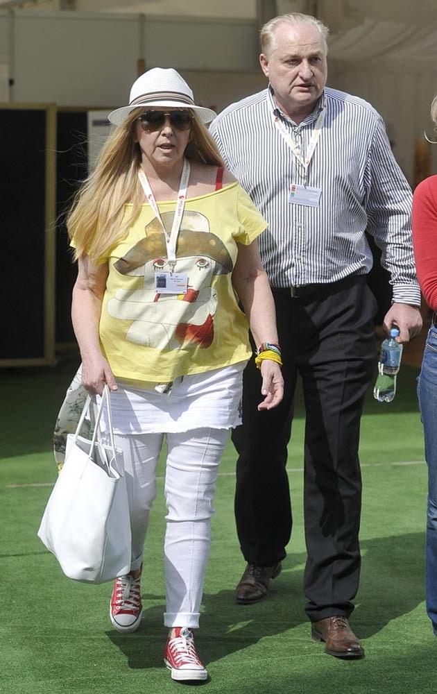 Maryla Rodowicz z mężem Andrzejem Dużyńskim, fot.Kurnikowski  /AKPA