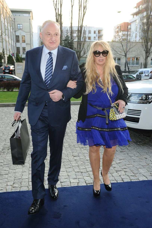 Maryla Rodowicz z mężem /East News