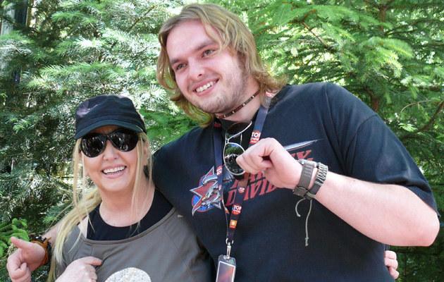 Maryla Rodowicz z synem /fot.Tomek Piekarski  /MWMedia