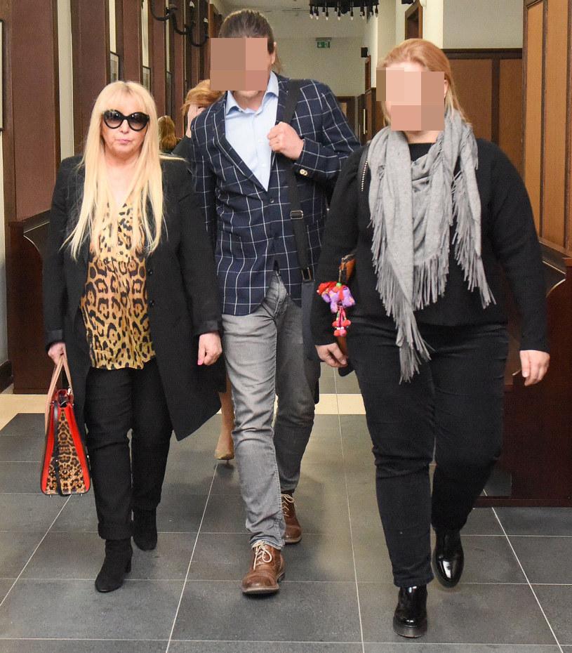 Maryla Rodowicz z synem i córką /brak /pomponik exclusive