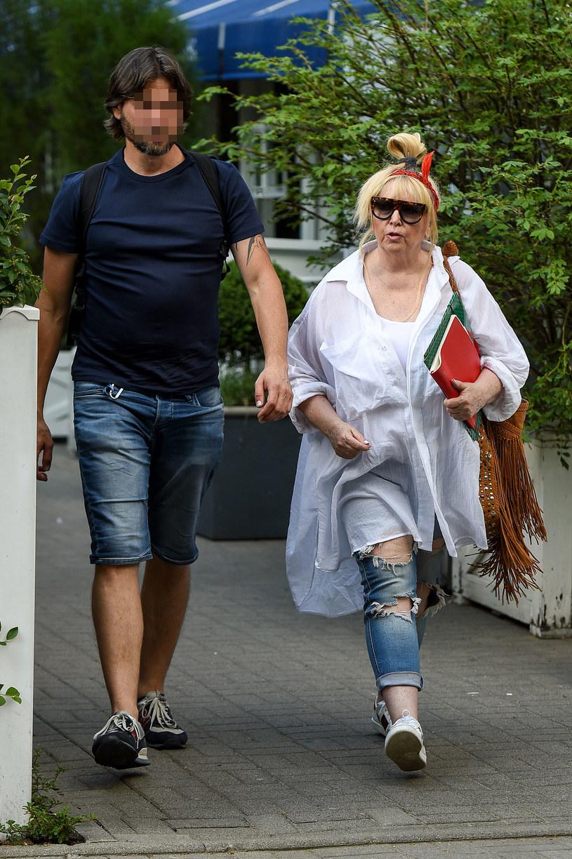 Maryla Rodowicz z synem Janem /pomponik exclusive