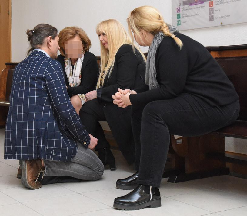 Maryla Rodowicz z synem Jankiem i córką Kasią /pomponik exclusive