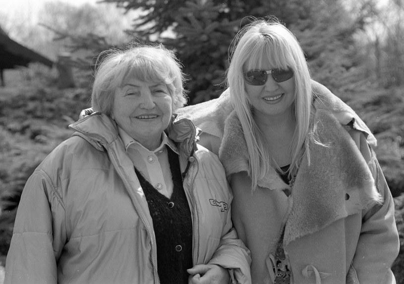 Maryla z mamą /- /East News