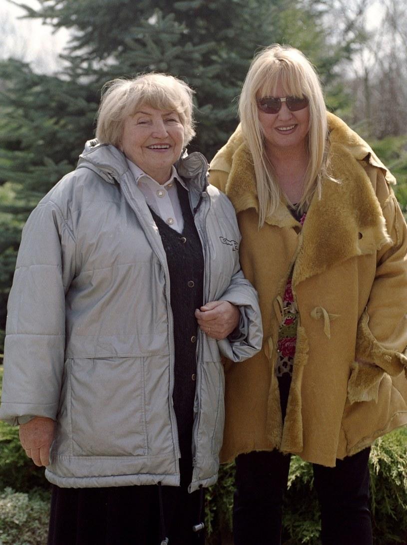 Maryla z mamą /Zyburtowicz/Fotonova /East News