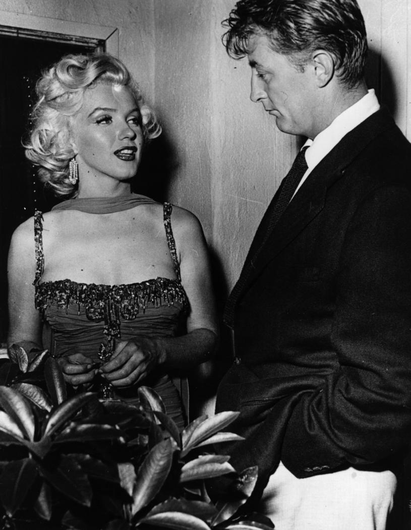 Marylin Monroe i Robert Mitchum /Keystone /Getty Images