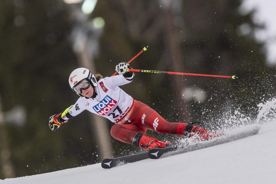 Maryna Gąsienica-Daniel na zdjęciu z lutego 2019 roku, zawody w Are w Szwecji /CHRISTIAN BRUNA /PAP/EPA