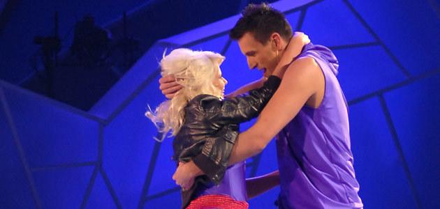 Marysia i Roger podczas występu, fot. Andrzej Szilagyi  /MWMedia