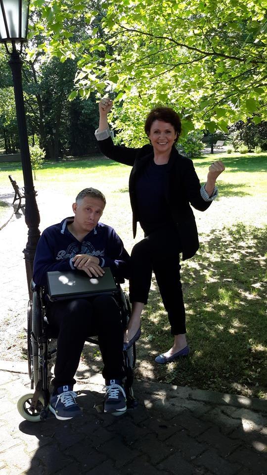 Marysia (Małgorzata Pieńkowska) i Artur (Robert Moskwa) /Facebook /internet