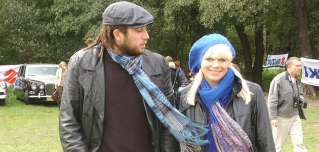 Marysia Sadowska z narzeczonym, fot. J.Stalęga  /MWMedia