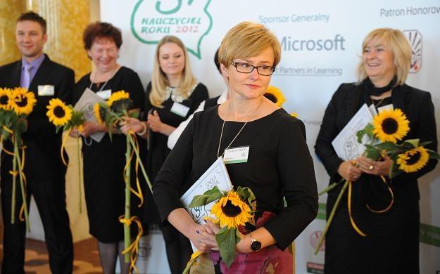 Marzena Kędra, dyrektorka Zespołu Szkolno-Przedszkolnego w Moszczance /fot. G. Jakubowski /PAP