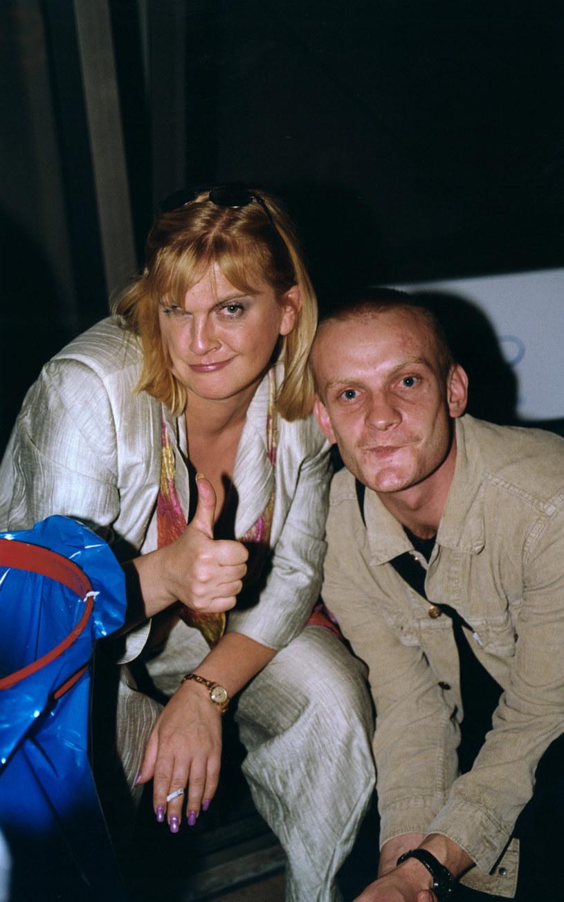 Marzena Kipiel-Sztuka i Bartosz Żukowski, 2000 rok /Prończyk /AKPA