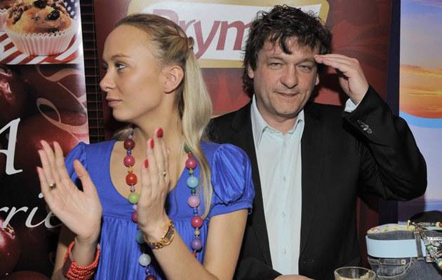 Marzena Popowska, Piotr Tymochowicz  /East News