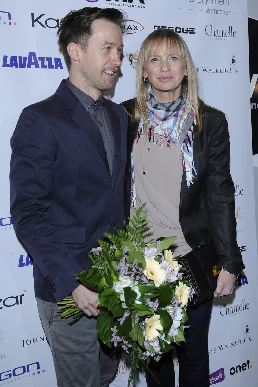 Marzena Rogalska i Paweł Drzyzga, 2012 rok /Andras Szilagyi /MWMedia