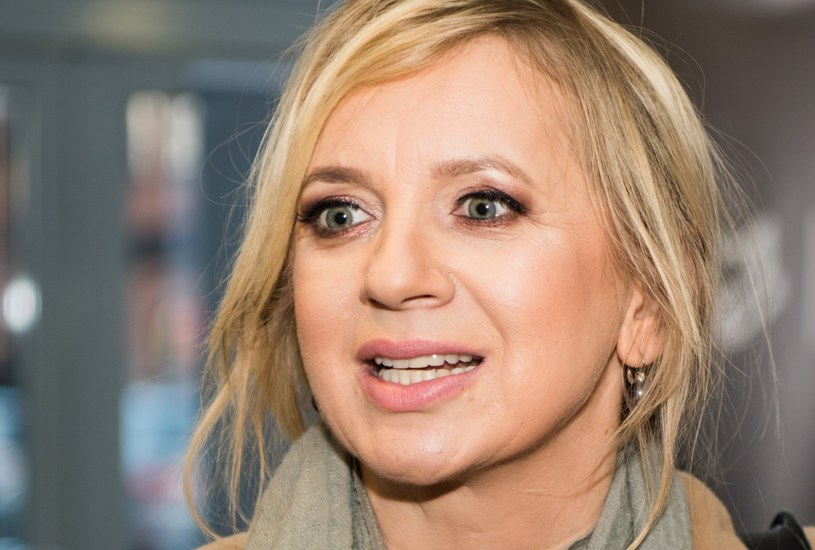 Marzena Rogalska wsparła marsze kobiet /Justyna Rojek /East News