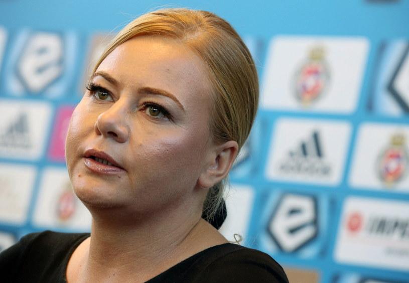 Marzena Sarapata jest od kilku dni nowym prezesem Wisły /Fot. Stanisław Rozpędzik /PAP