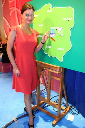 Marzena Słupkowska na dniu otwartym TVP w 2006 roku /fot  /AKPA