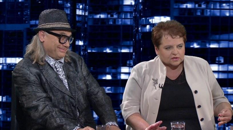 Marzena Wróbel była gościem Moniki Olejnik /TVN24/x-news