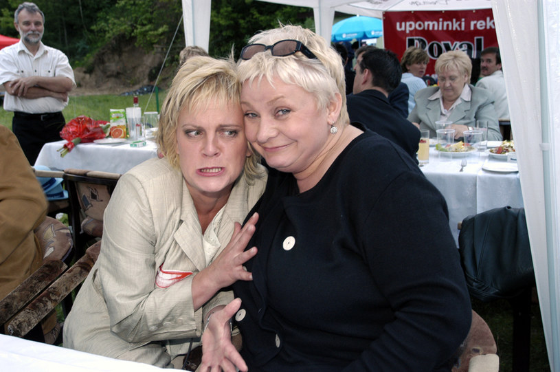 Marzena z Joanną Bartel /- /AKPA