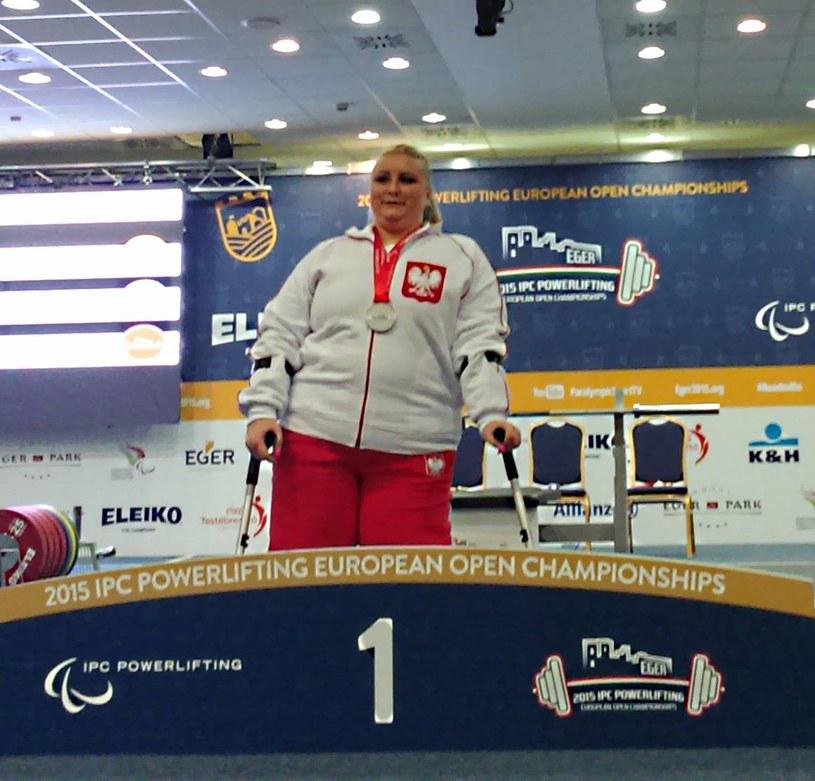 Marzena Zięba zdobyła także złoto na mistrzostwach Europy. /AFP