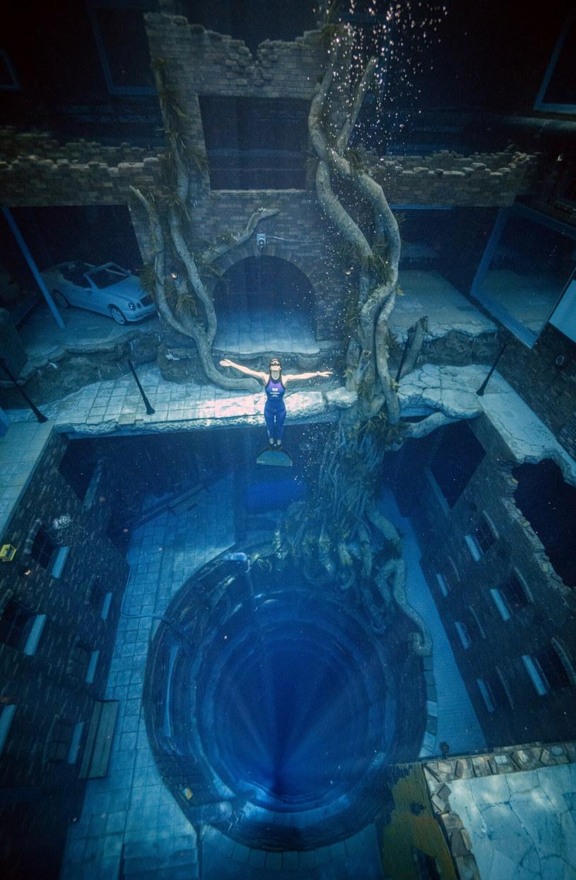 Marzycie o takich widokach? To możliwe tylko w Deep Dive Dubai! /Deep Dive Dubai/Ferrari Press /East News