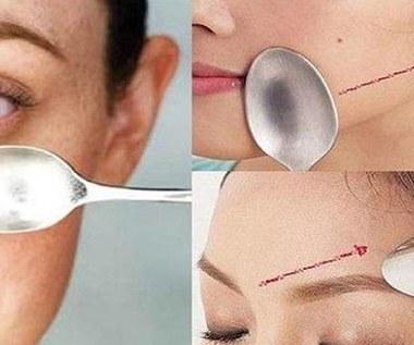 Masaż twarzy łyżką - sprawdź jak go wykonać