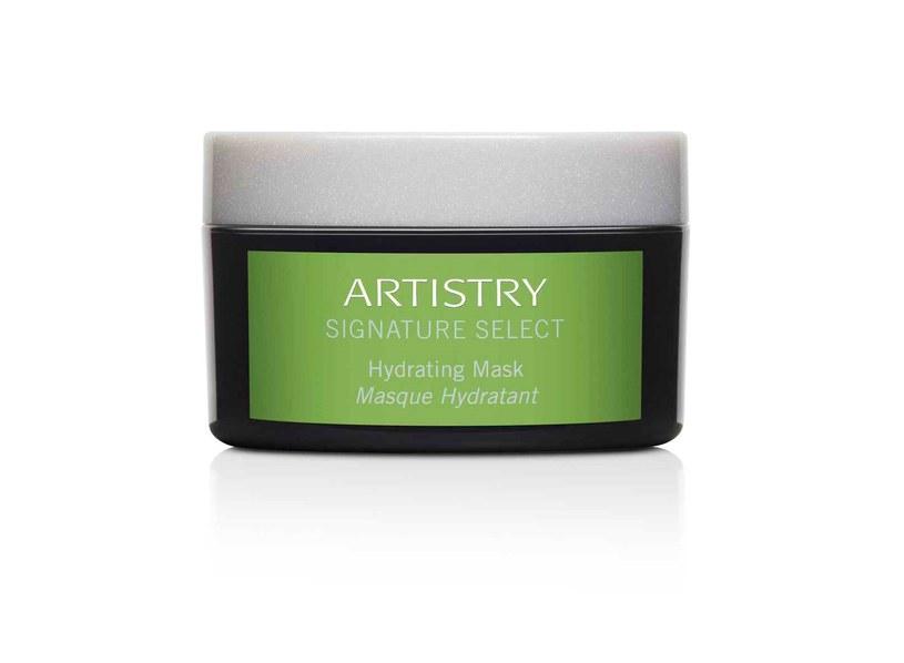 Maseczka nawilżająca Artistry Signature Select™ (zielona) /materiały prasowe