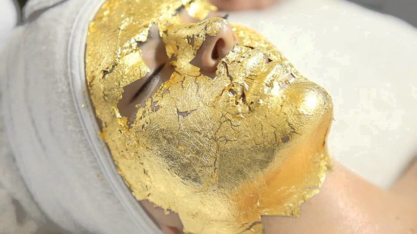 maseczka ze złota /© Photogenica