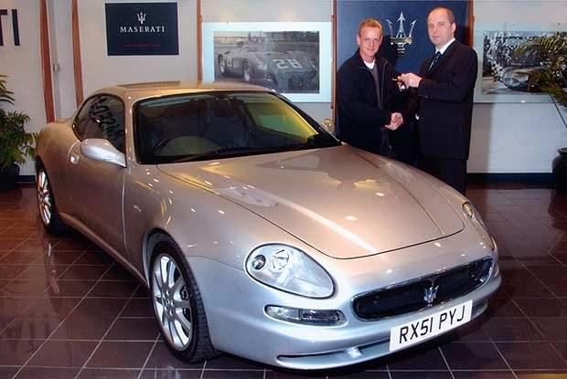 Maserati 3200 GT Coupe (kliknij) /INTERIA.PL