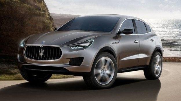 Maserati Kubang (2011) - produkcyjna wersja modelu będzie konkurować m.in. z Porsche Cayenne. /Maserati